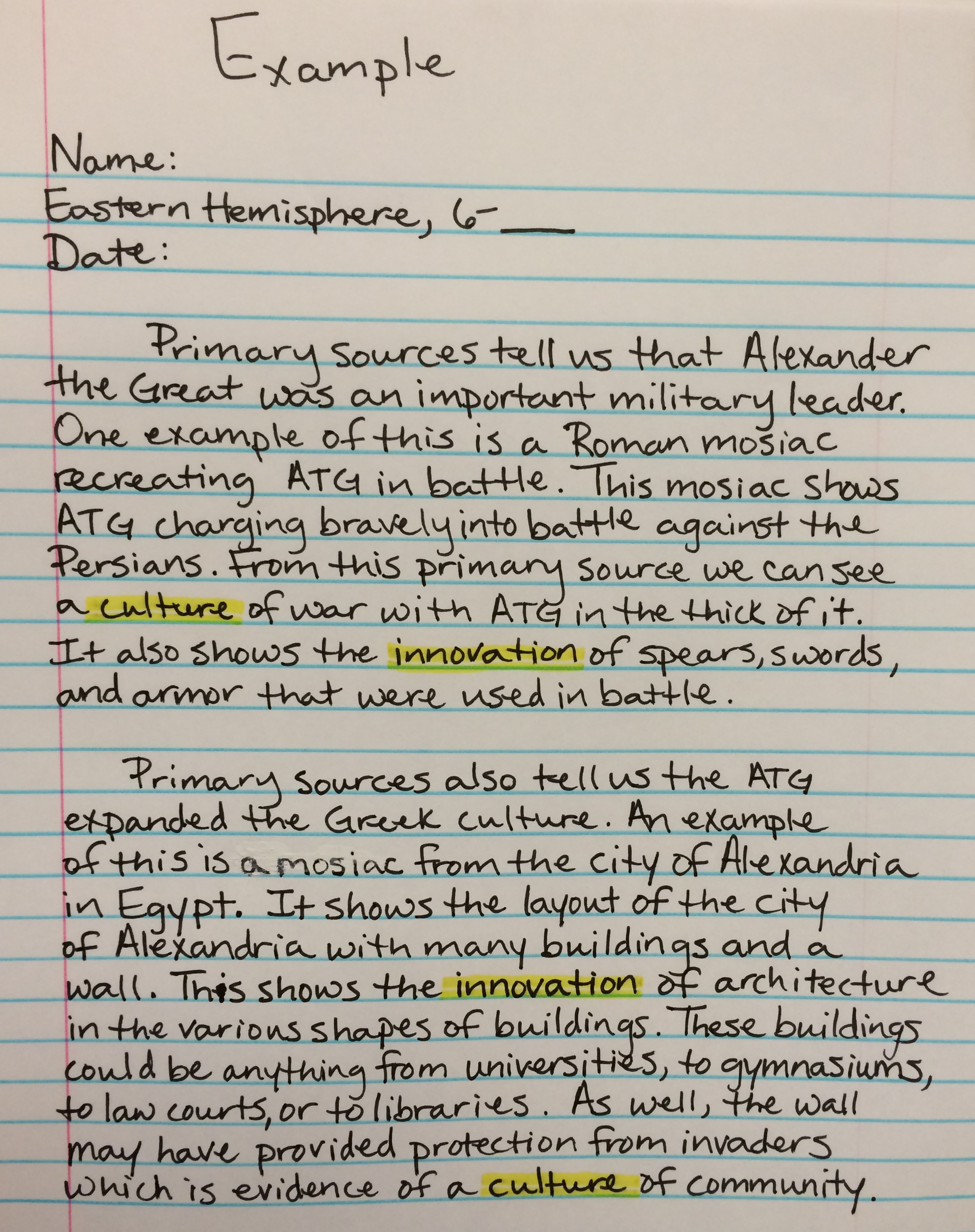 the importance of primary sources to students Finding primary sources today, finding primary sources can be quite easy however, it can be a serious way for students to better understand history, by hearing from the people who witnessed the event and other real life accounts.