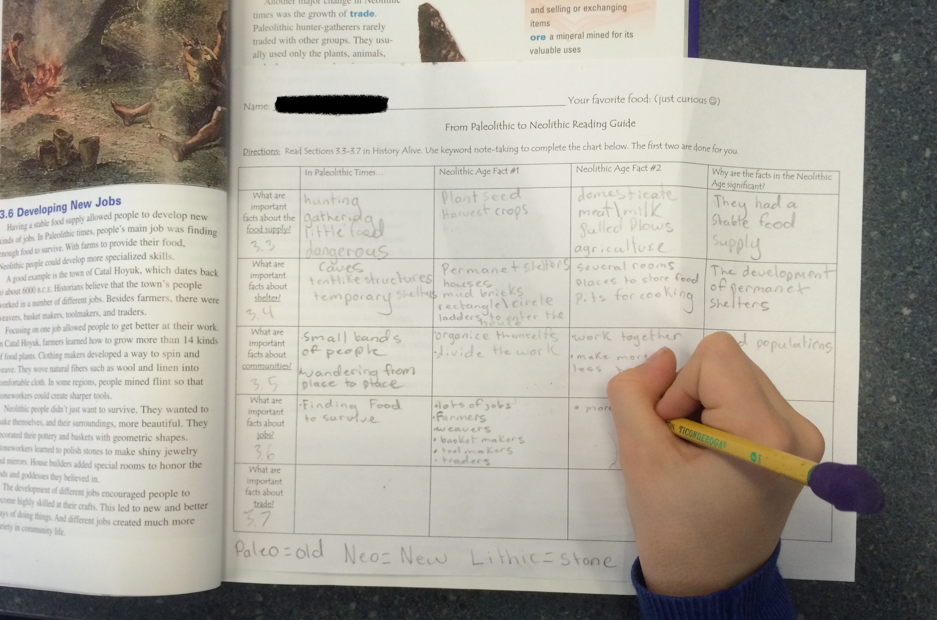 cornell notes chapter 7 history alive Tci proudly provides interactive experiences with their middle school social studies tci's online history alive they then create a chapter of a.