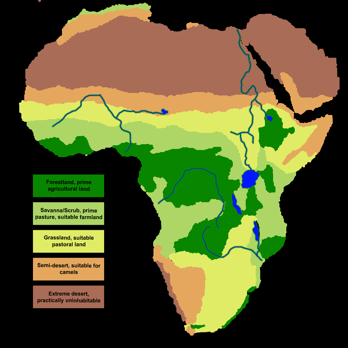 Map Of Africa Climate Zones.January 2015 Ms Stone S Class